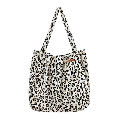 Leopard Jacquard | Mommy Tote Bag